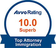 Avvo 10.0 Immigration Rating